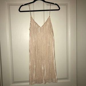 Full tilt light pink party dress